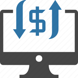 advertising, money, ppc, revenue, traffic icon