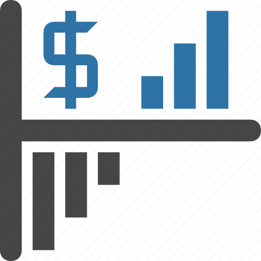 growth, investment, return, revenue, risk, roi, success icon