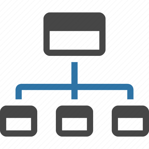 architecture, flowchart, navigation, sitemap, structure, ux, wireframe icon
