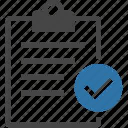 agenda, checklist, clipboard, list, reminder, task, tasking icon