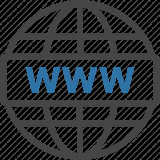 dns, domain, registrar, url, website, www icon