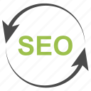 arrow, arrows, internet, marketing, seo, web icon