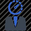 ability, efficiency, performance, productivity, speedometer icon