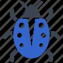 bug, fix, fixing, repair, virus icon