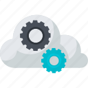 cloud, computing, flat design, internet, online, service, storage icon