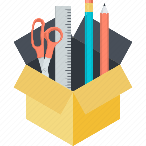 creative, design, development, package, tool icon