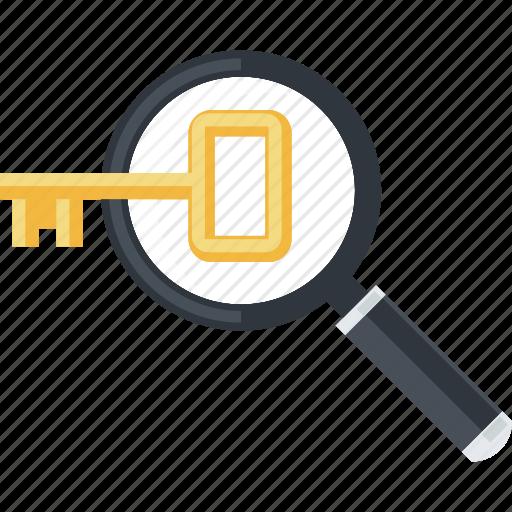 development, flat design, internet, keyword, research, website icon