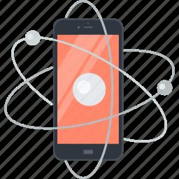 communication, flat design, internet, m-commerce, marketing, mobile icon