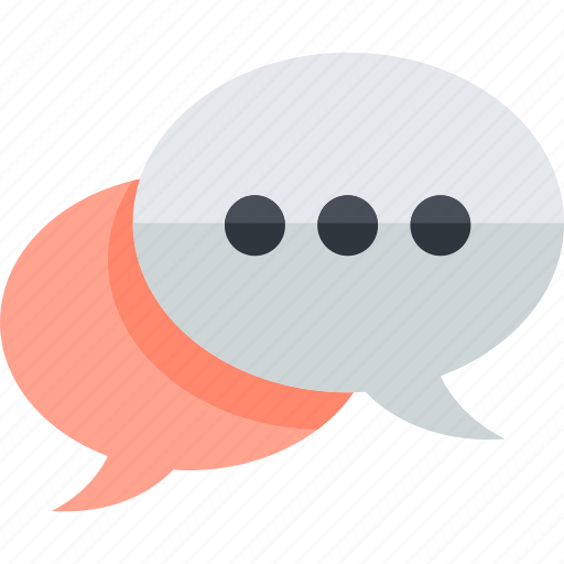 chat, communication, engagement, flat design, media, social icon