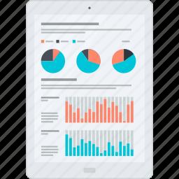 analytics, chart, flat design, internet, optimization, web icon
