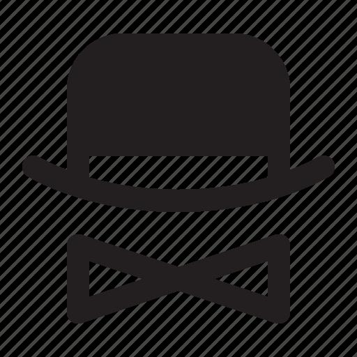 bow, brand reputation, branding, hat icon