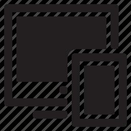 responsive design, seo, tablet icon