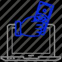 click, commerce, e, internet, marketing icon