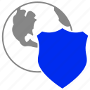 network, online, protection icon