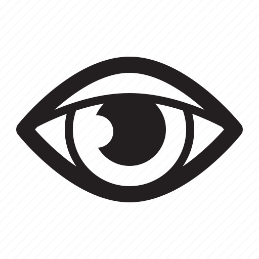 eye control, retina ready, web design icon