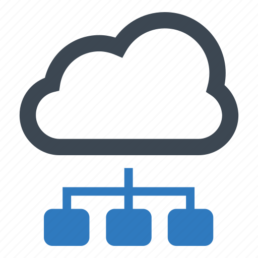 cloud, computing, networking icon