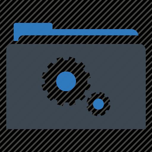 folder, options, settings icon