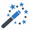 create, magic, magic wand, wand icon