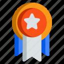 badge, evaluation, medal, reward, seo
