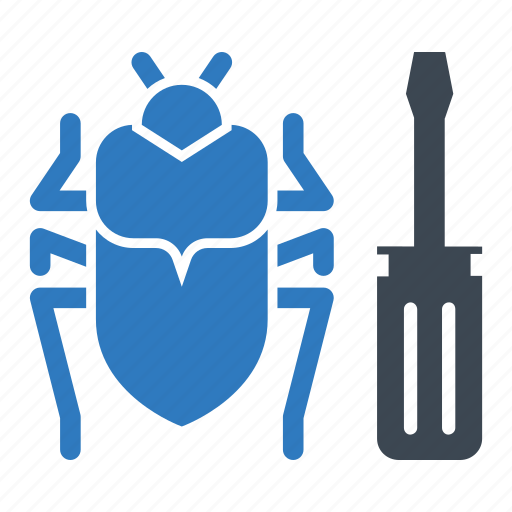 bug, bug fixing, fix, repair icon