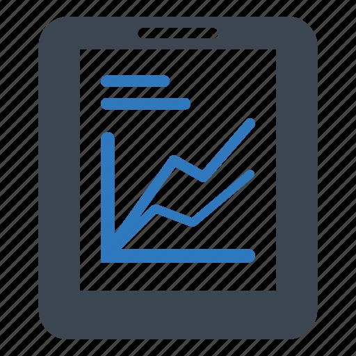 ipad, monitoring, report, statistics icon