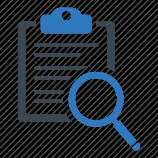 analytics, document, exam icon