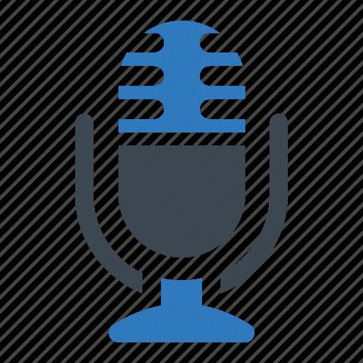 audio, microphone, multimedia, record icon
