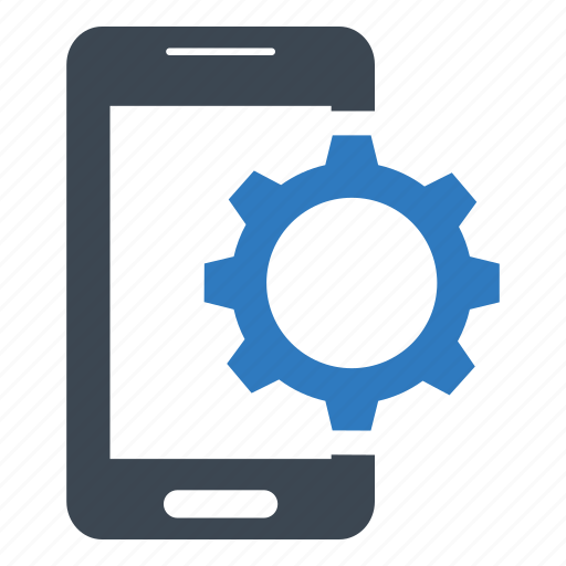 Configuration, gear, mobile icon - Download on Iconfinder