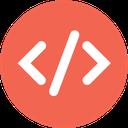 code, html, web icon