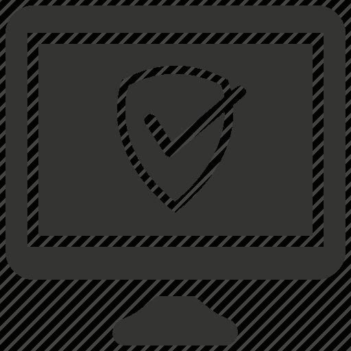 antivirus, brand protection, shield, web security icon