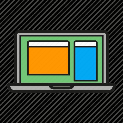 computer, device, laptop, mac, macbook, netbook icon