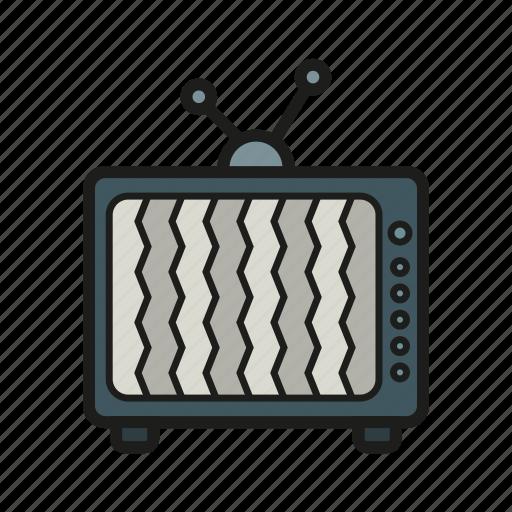 entertainment, movie, television, tv, tv set icon icon