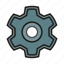 cog, gear, seo, settings, sprocket icon