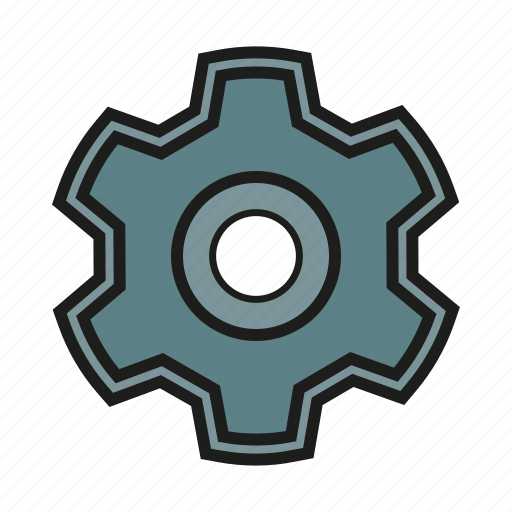 cog, gear, seo, settings, sprocket icon icon
