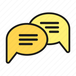 chat, communication, keep in touch, talk icon icon