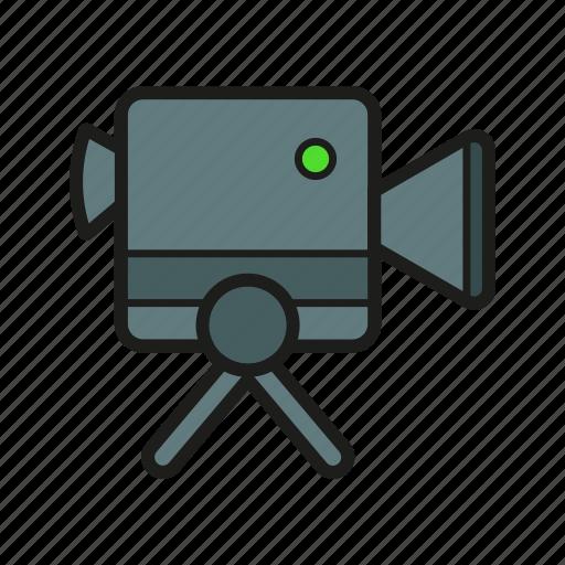 camera, make a video, recorder, technology icon icon
