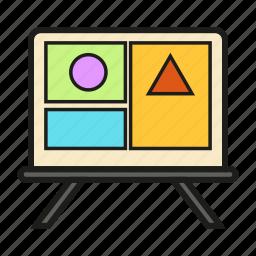 chart, plan, table, timetable icon icon
