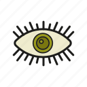 an eye icon, eye, glance, loog, stare icon icon