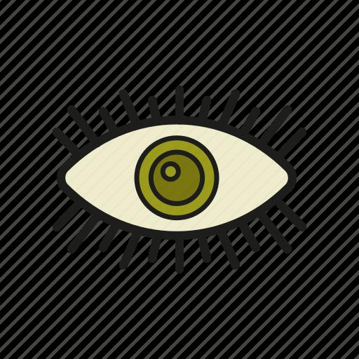 an eye icon, eye, glance, loog, stare icon icon