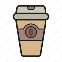 coffee, coffee mug, drink hot, hot icon icon