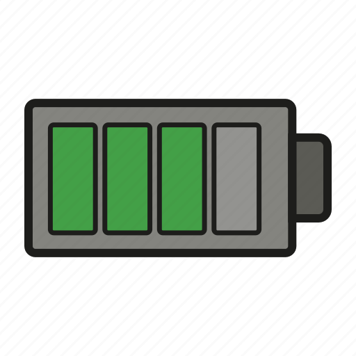 battery, charge, charging, device, electric icon icon
