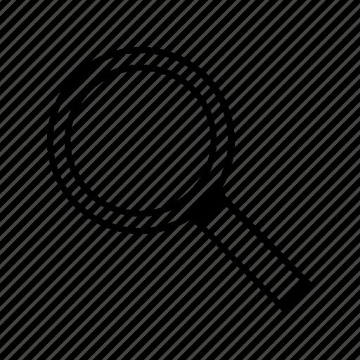magnifier, marketing, optimization, search, seo, ui, web icon