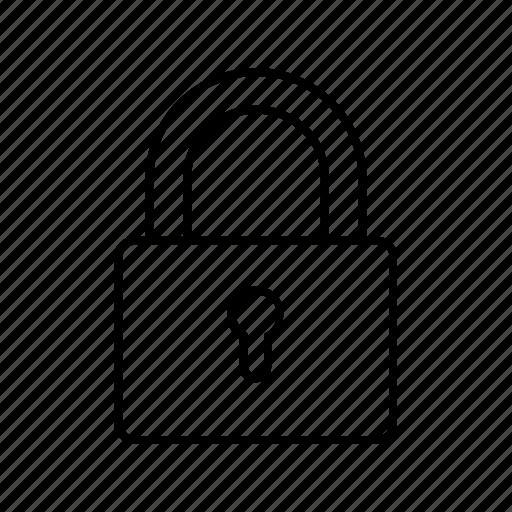 lock, marketing, optimization, secure, seo, ui, web icon