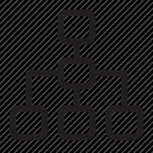 organisation, seo, structure icon
