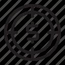 profit, seo, target icon