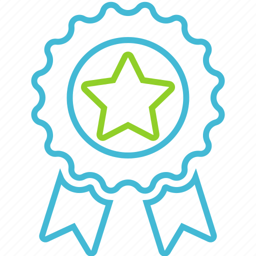 achievement, award, badge, favorite icon