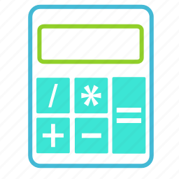 calculator, ecommerce, finance, financial icon