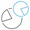 analysis, analytics, chart, diagram, pie, report, statistics icon