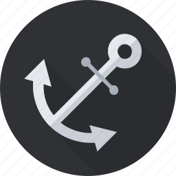 anchor, chain, hyperlink, link, marine, sea icon