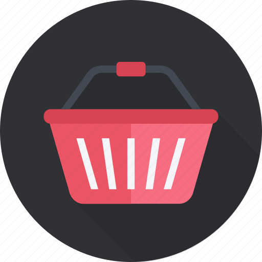 basket, cart, commerce, market, purchase, retail, shopping icon